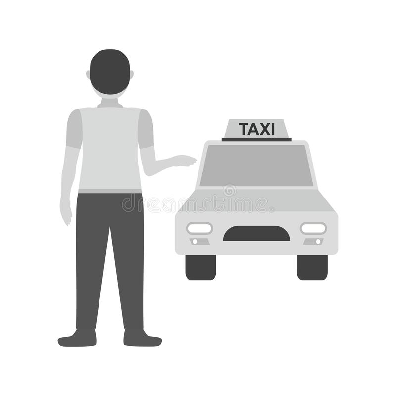 Calling Cab stock illustration