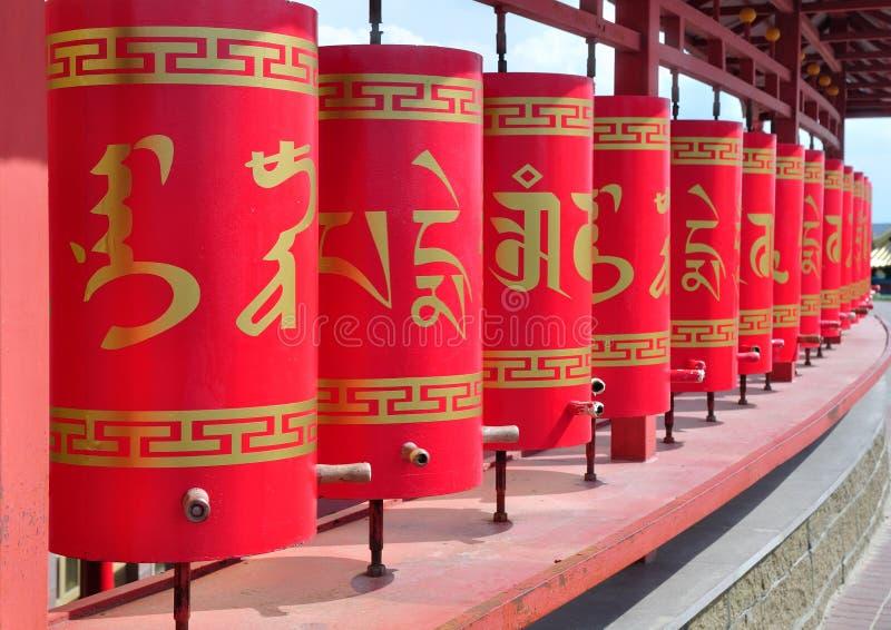 Calmúquia Elista Templo do domicílio dourado da Buda Shakyamun foto de stock