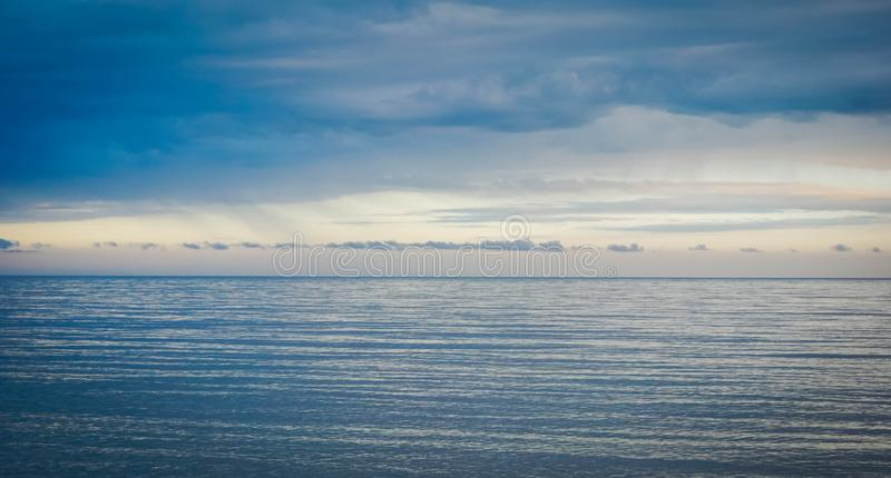 Calm on the Black Sea royalty free stock image