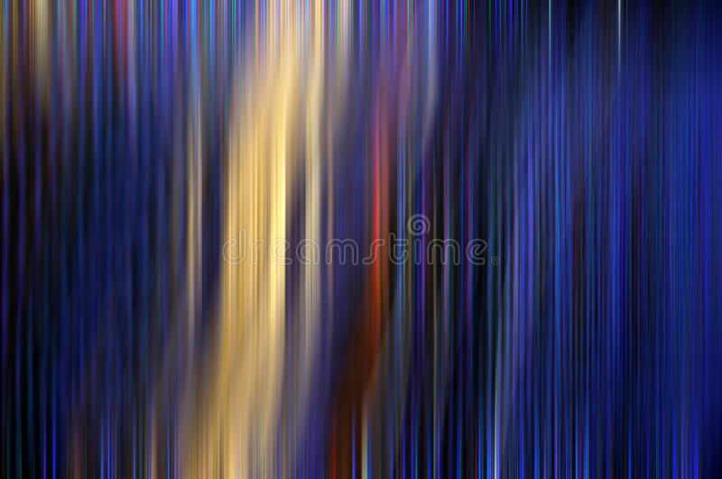 Calm blue abstract background. That represents cars driving in a street at dusk with rain royalty free stock photo