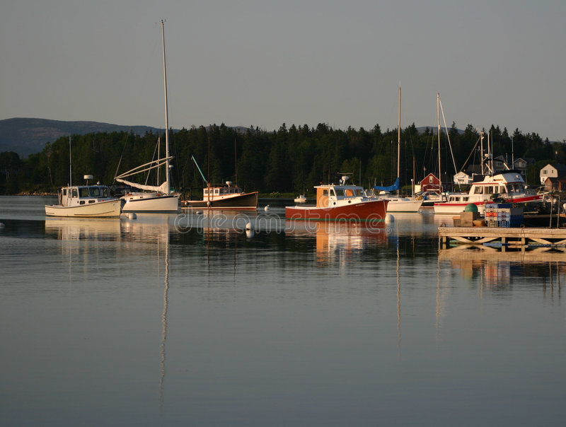 Download Calm Harbor Royalty Free Stock Photography - Image: 593297