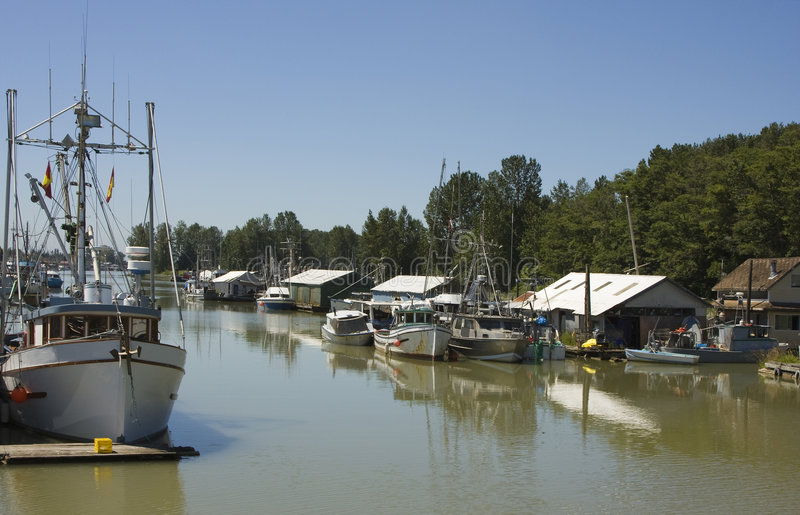 Download Calm Harbor stock image. Image of boats, marine, full - 6979467