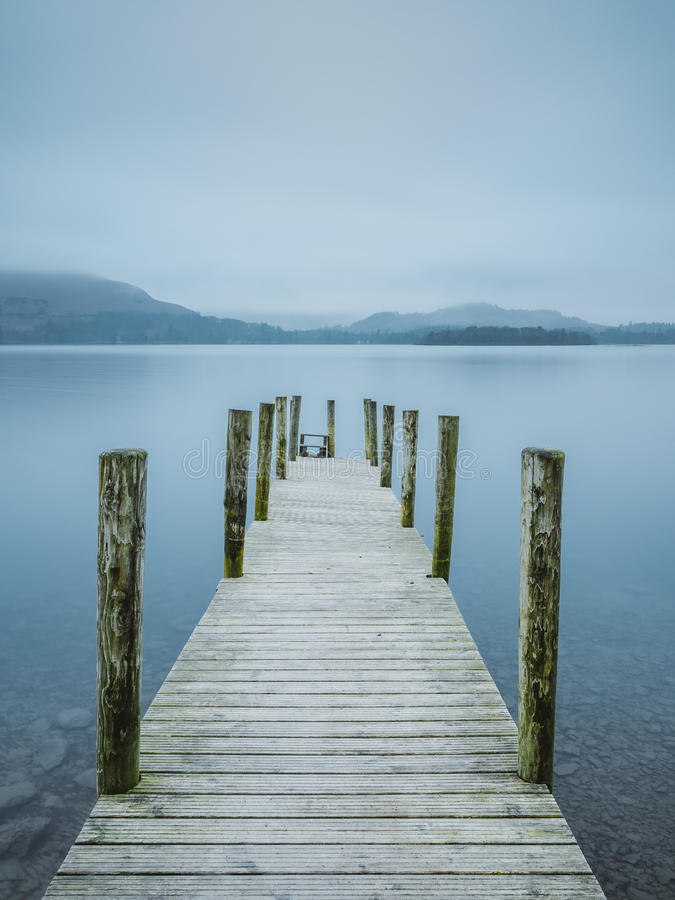 Calm Jetty stock photography