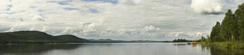 Calm lake royalty free stock images