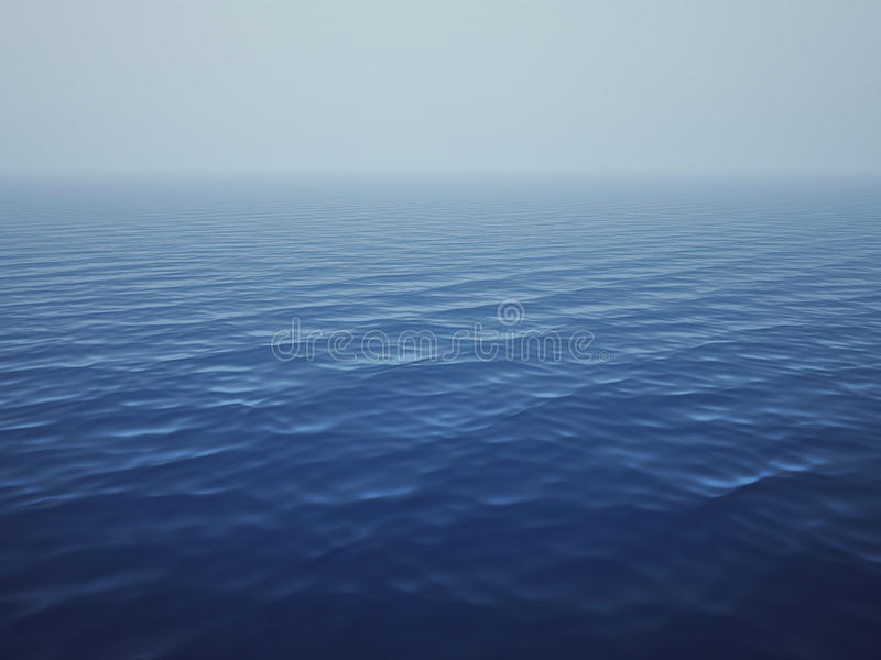 Calm ocean royalty free stock photography