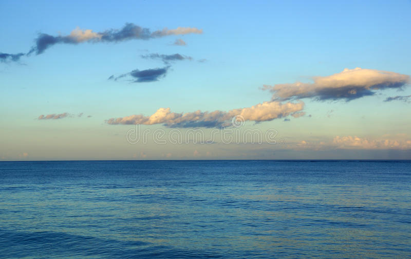 Calm Ocean Waters Of Waimanalo Bay Royalty Free Stock Photography