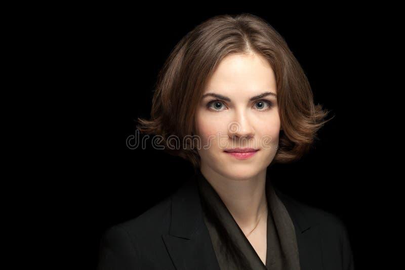 Calm Pretty Model Corporate Headshot royalty free stock photography