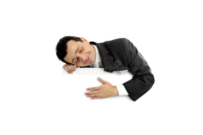 Calm And Relaxed Royalty Free Stock Image