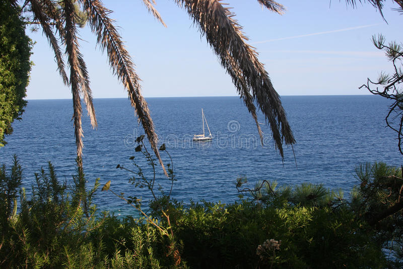 Download Calm on the sea stock photo. Image of rest, mediterranean - 21406034