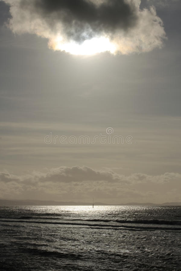 Free Calm Sea At Sunset Royalty Free Stock Photos - 20385208