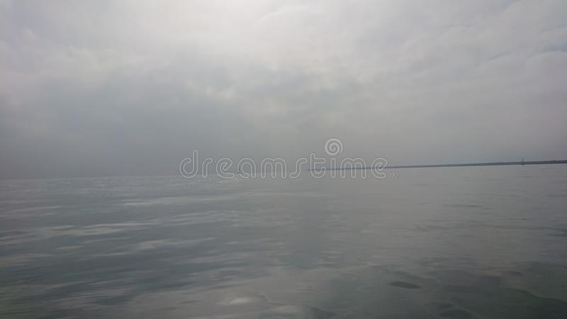 Sea mirror stock photos