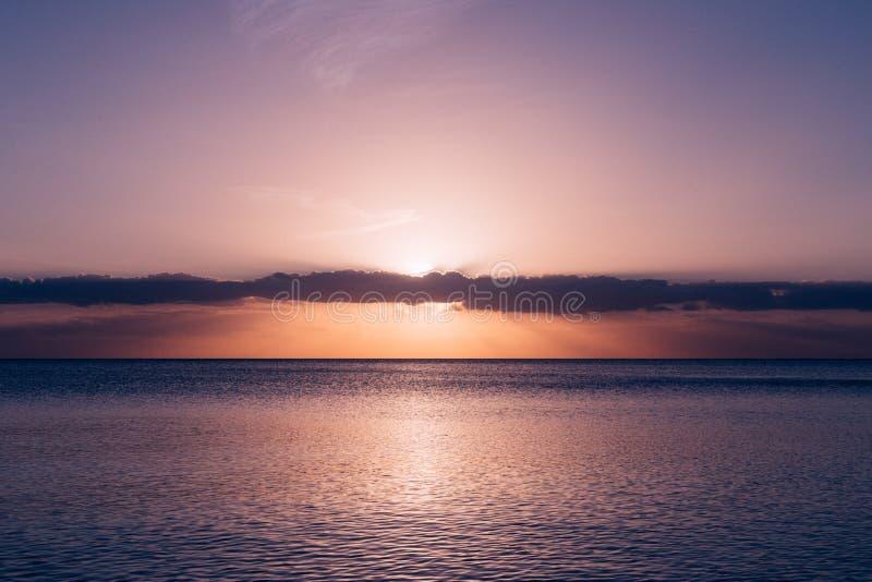 Calm Sea Under Blue Sky During Sunset Free Public Domain Cc0 Image