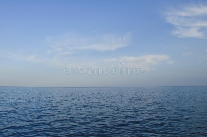 Calm seas royalty free stock photo