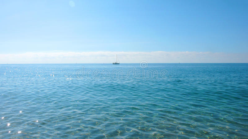 Calm seascape royalty free stock image