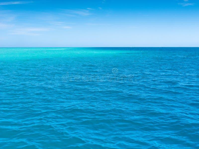 Calm South Pacific Ocean