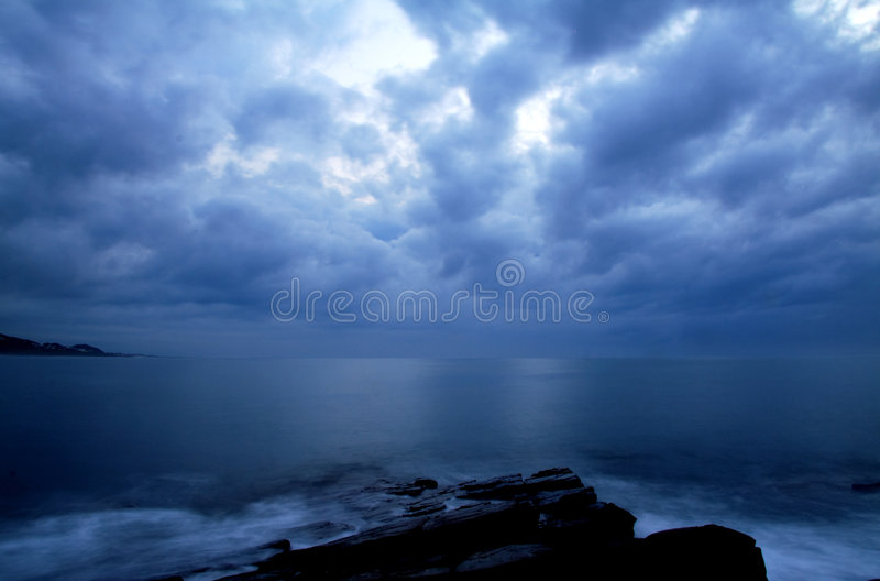 Calm before the storm. royalty free stock photo