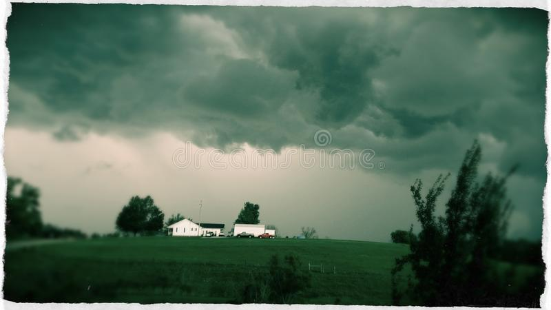 Calm before the storm royalty free stock photo