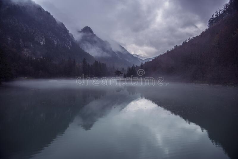 Calm Water On Lake In Valley Free Public Domain Cc0 Image