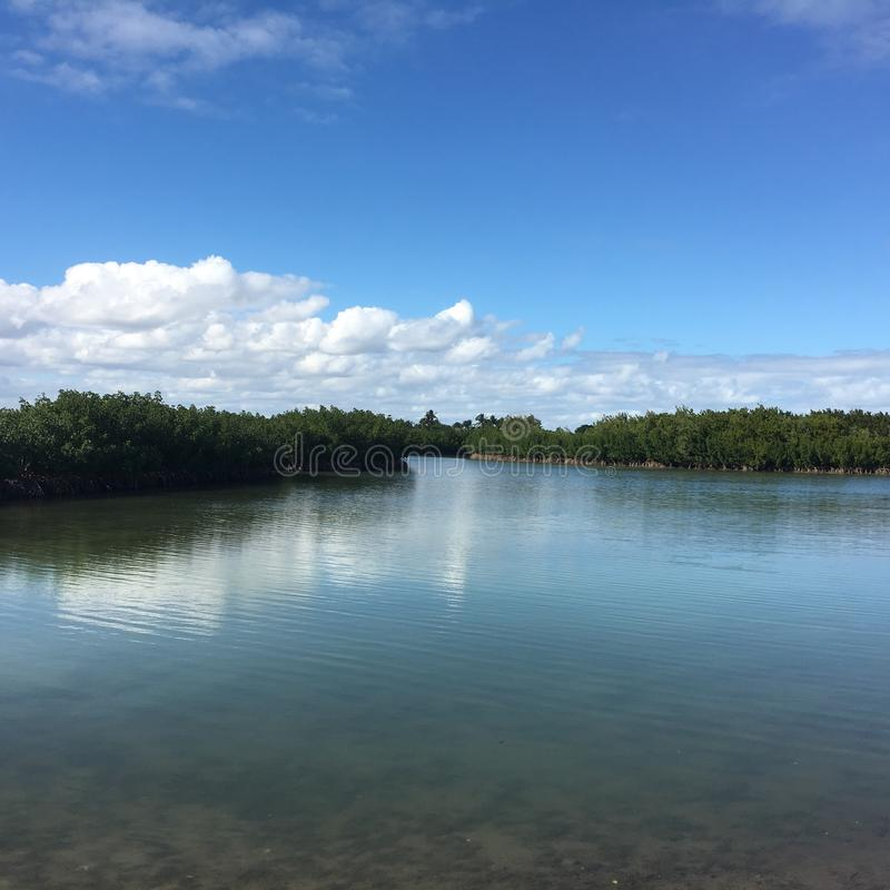 Calm Waters stock photography