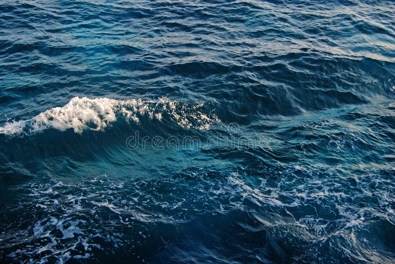 The Calm Waves stock image