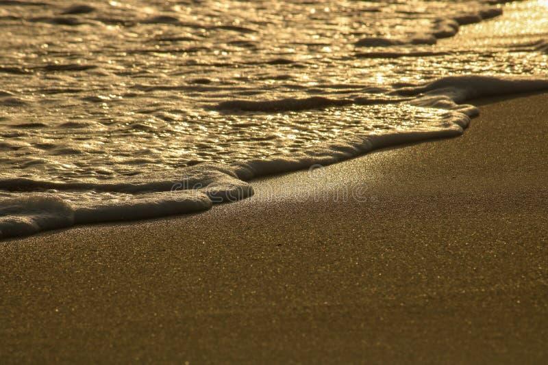A calma acena na praia fotos de stock