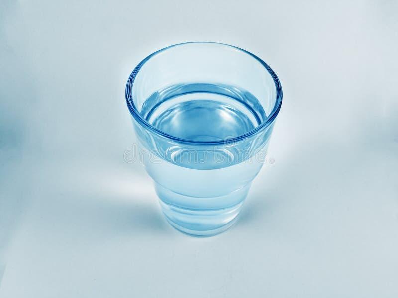 Calma del bicchiere d'acqua fotografia stock