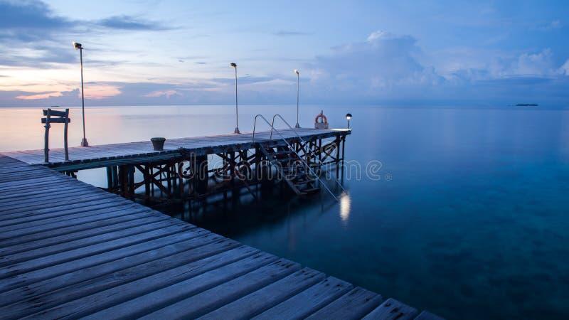 Calma dell'oceano immagini stock libere da diritti