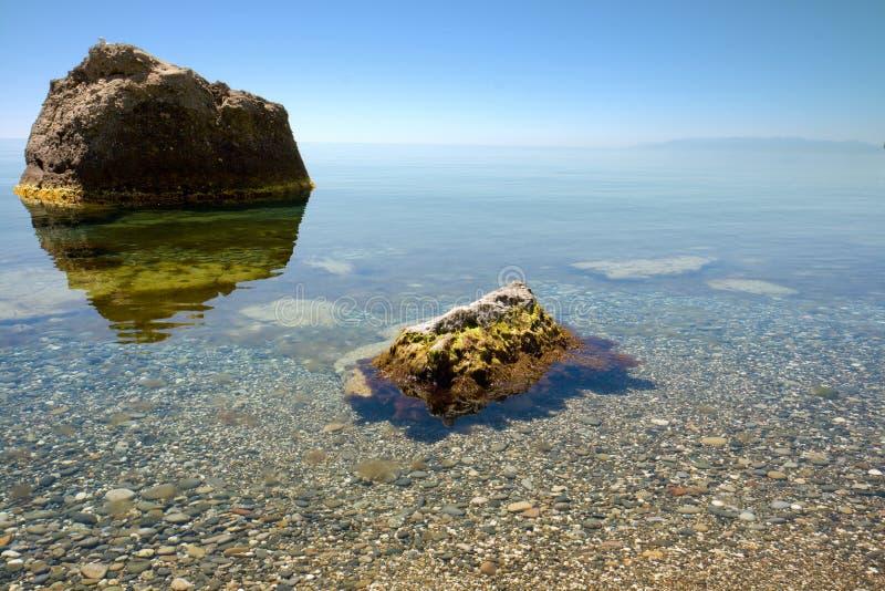 Calma en el Mar Negro imagen de archivo libre de regalías