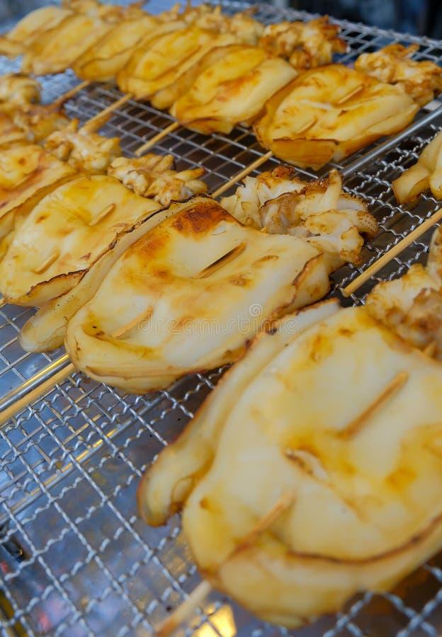 Calmar grill? photos stock
