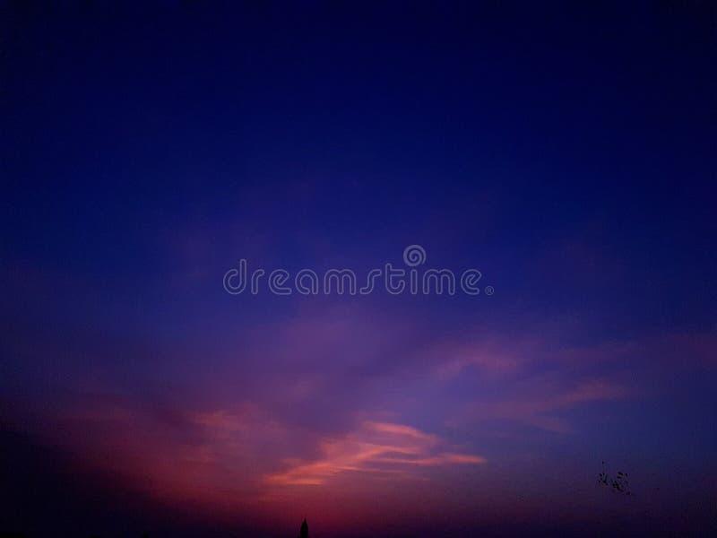 Calme sunshy impressionnant de nature de vue photos libres de droits