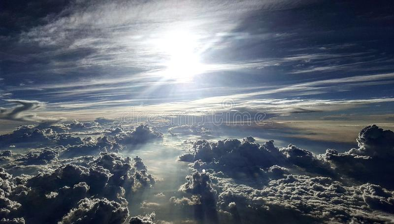 Calming Clouds royalty free stock images