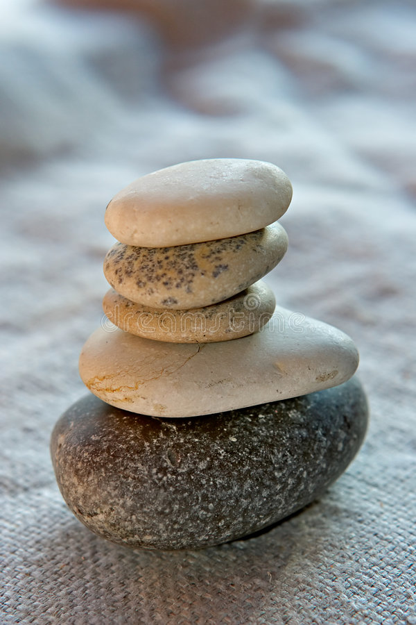 Calmness and balance royalty free stock images