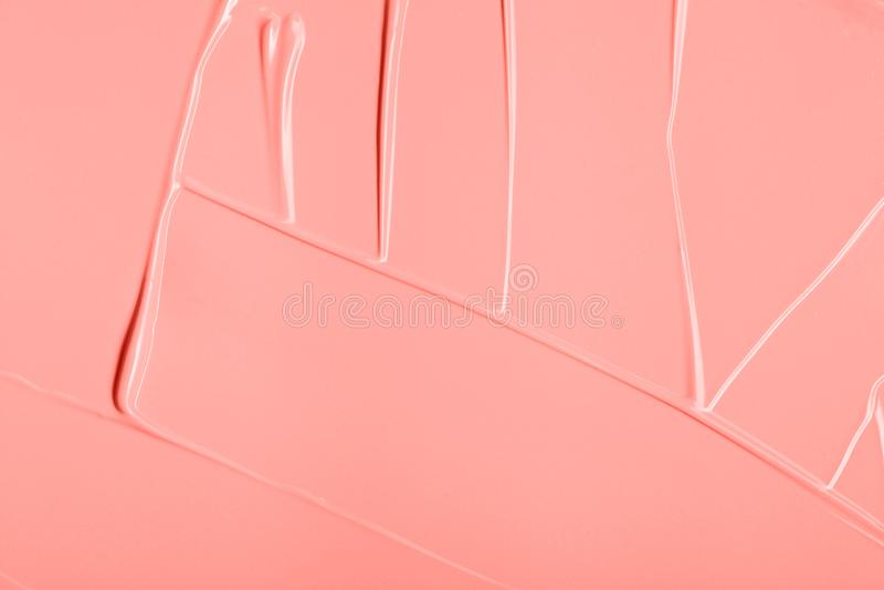 Calomnie color?e de corail vivante de texture de peinture photos libres de droits