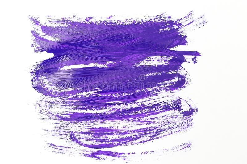 Calomnie ultra-violette de peinture de couleur Vue supérieure image libre de droits