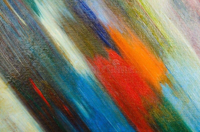 Calomnies de dossier d'une peinture foncée d'aquarelle sur la toile illustration de vecteur