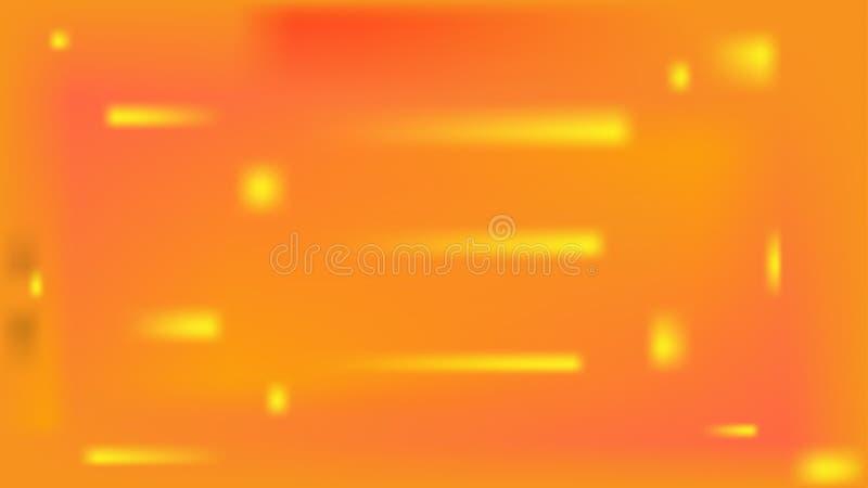 Calor ardiente del sol, fondo de energía solar del vector stock de ilustración