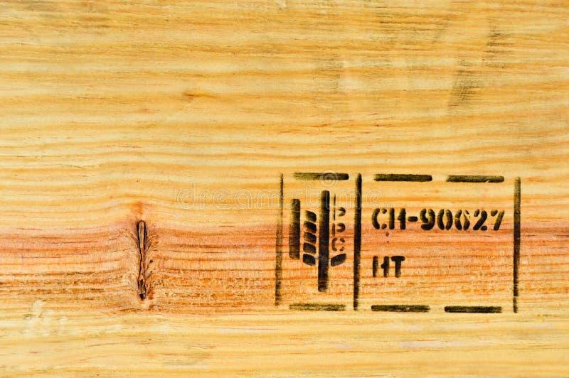 Calor - madeira tratada fotos de stock royalty free