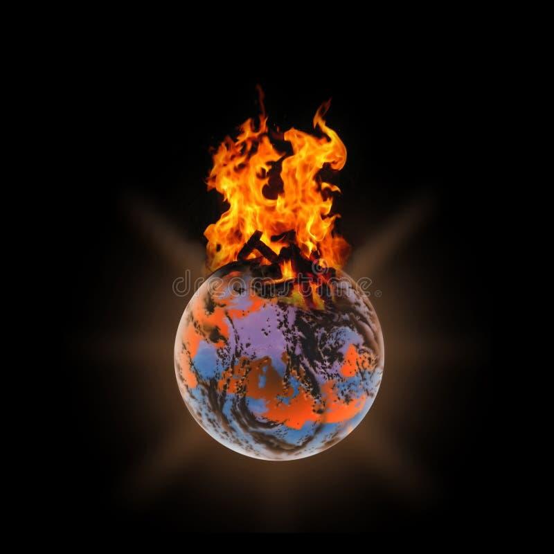 Calore globale illustrazione vettoriale