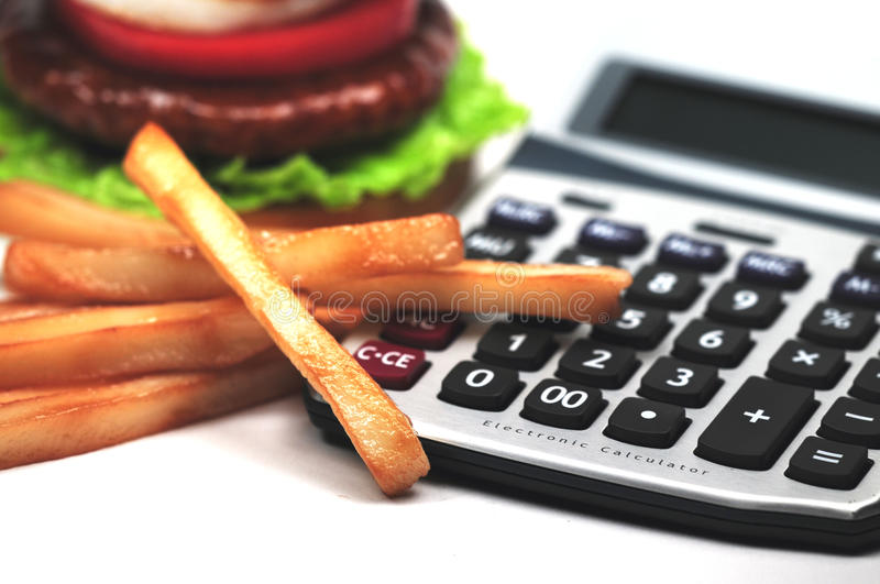 Calories images stock