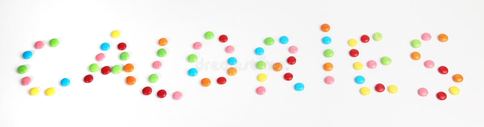 Calories Royalty Free Stock Photography