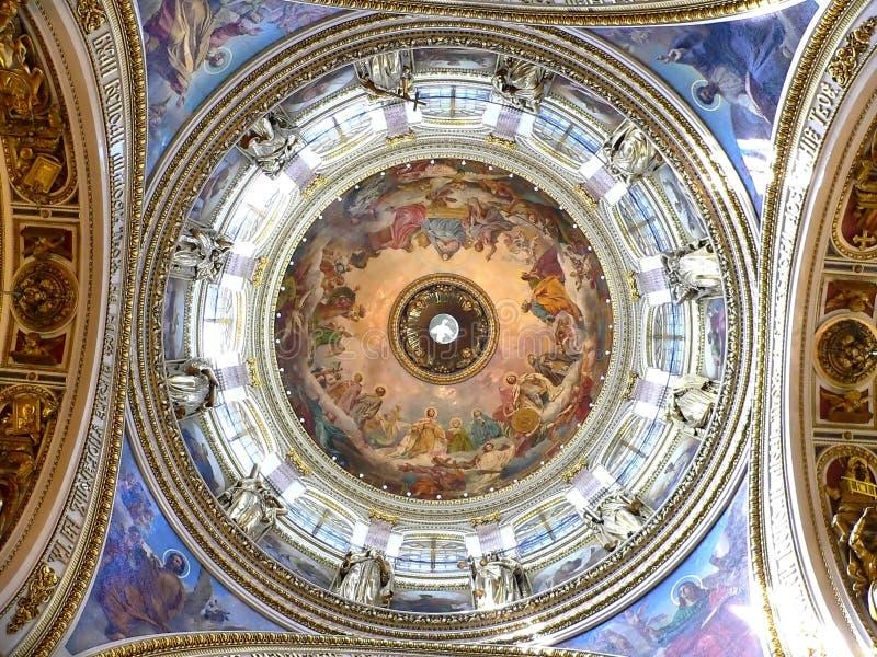 Calotte da catedral imagem de stock royalty free