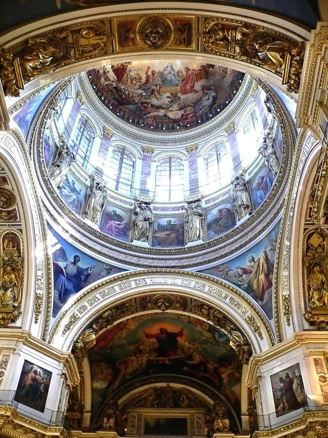 Calotte della cattedrale fotografia stock libera da diritti