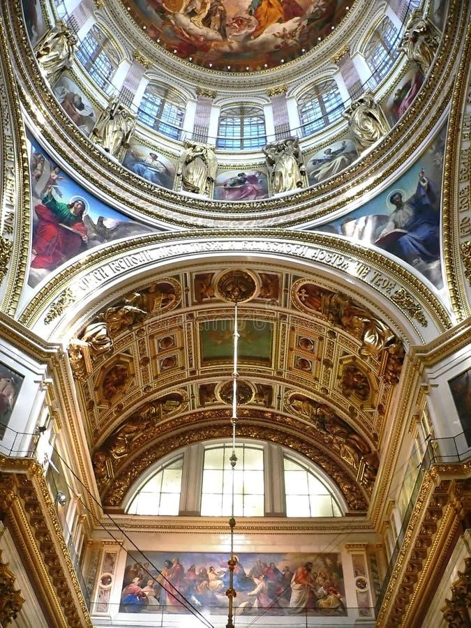 Calotte della cattedrale immagini stock libere da diritti
