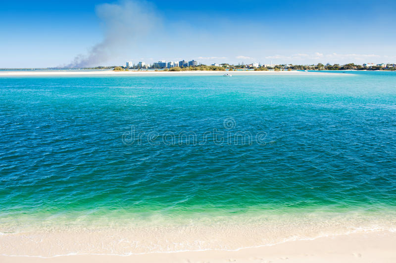 Download Caloundra Kings Beach With Amazing Water Stock Photo - Image: 15548236