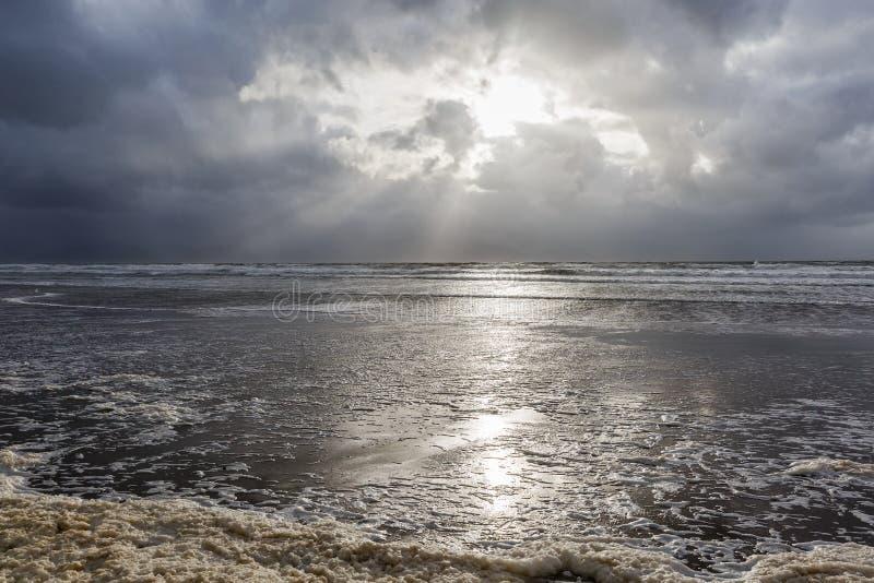 Calowa plaża w Irlandia obrazy royalty free