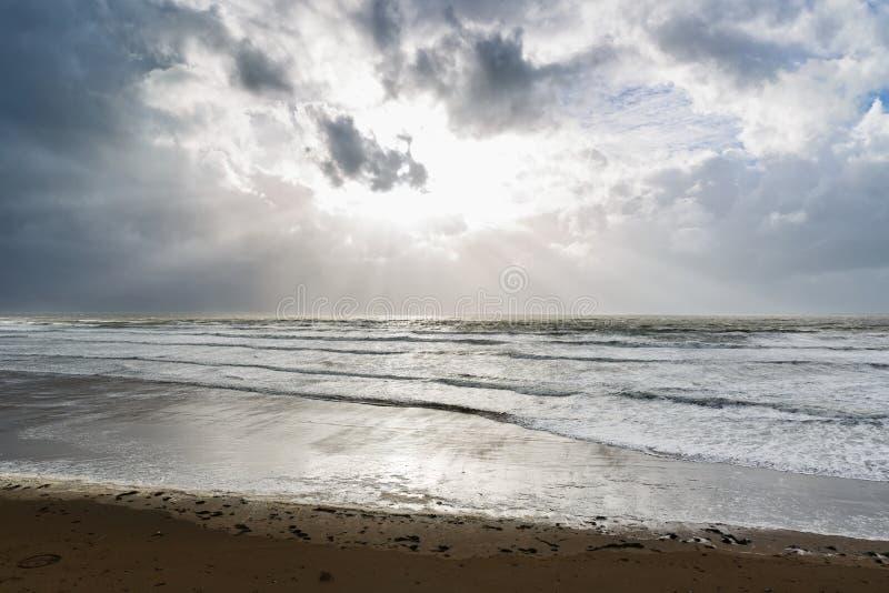 Calowa plaża w Irlandia obraz royalty free