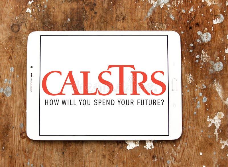 CalSTRS byrålogo royaltyfria foton