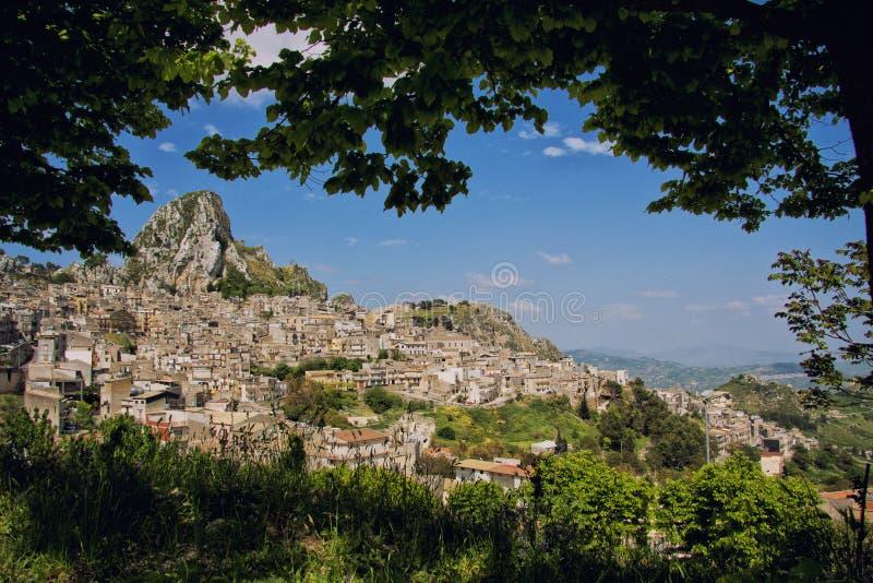 Caltabellotta royalty-vrije stock foto's