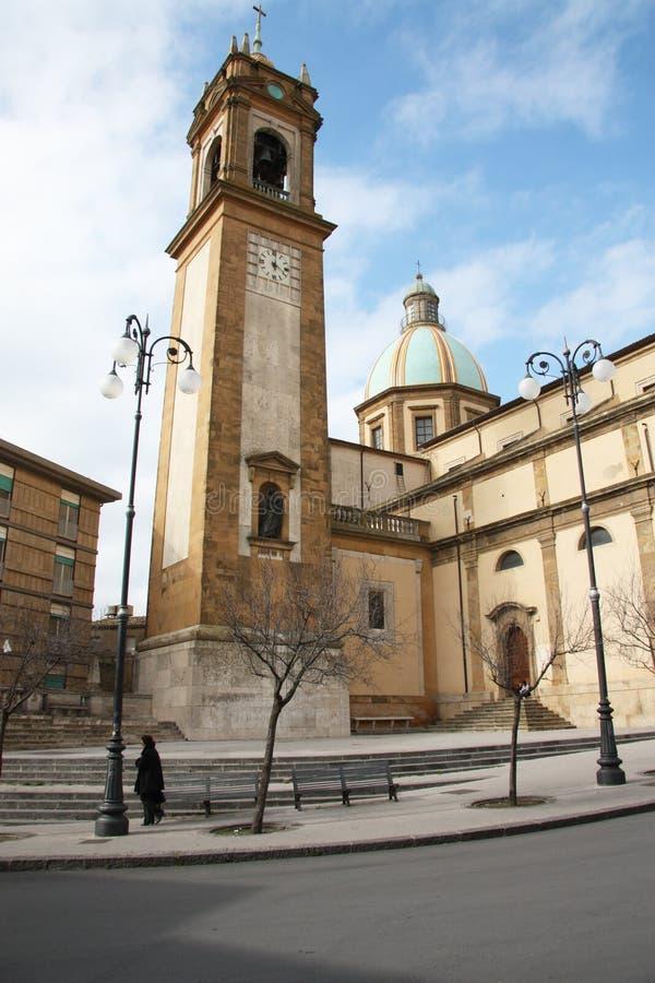 Caltagirone, Catania - Sicília foto de stock royalty free