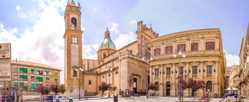 Caltagirone - Sicília imagens de stock royalty free